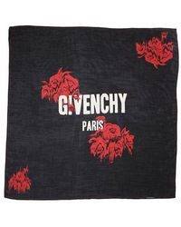 Givenchy - Branded Printed Scarf - Lyst