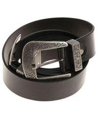 Ki6? Who Are You? - Double Belts With Two Buckles - Lyst