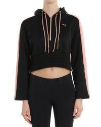PUMA - Black En Poin Savannah Sweatshirt - Lyst