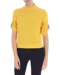 Pinko - Nosiola Yellow Pullover - Lyst