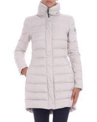 "Peuterey - ""sobchak Mq"" Ice-colored Down Jacket - Lyst"