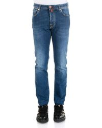 Jacob Cohen - Blue 5 Pockets Jeans - Lyst