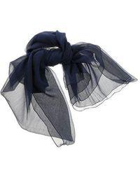 Blumarine - Silk Stole - Lyst