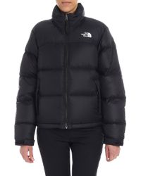 """The North Face - Black """"nuptse"""" Down Jacket - Lyst"""