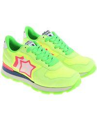 Atlantic Stars - Neon-yellow Vega Sneakers - Lyst