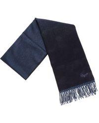 Ermenegildo Zegna - Blue And Turquoise Scarf - Lyst