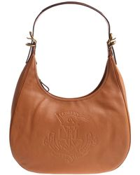 Lauren by Ralph Lauren - Huntley Tan-color Bag - Lyst