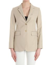 Max Mara - Sand-colored Novak Jacket - Lyst