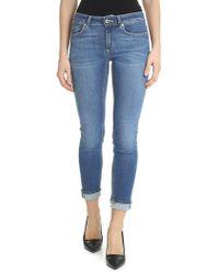 Dondup - Monroe Skinny Light-blue Jeans - Lyst