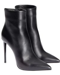 Le Silla - Leather Ankle Boots - Lyst