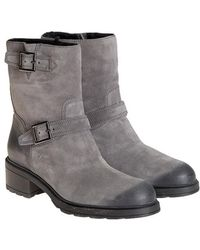 Hogan - Leather Boots - Lyst