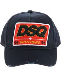 Lyst - Dsquared² Brothers Baseball Cap in Green for Men 0b36c61a9b6