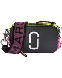 Marc By Marc Jacobs - Camera Snapshot Bag With Neon Stitchings - Lyst