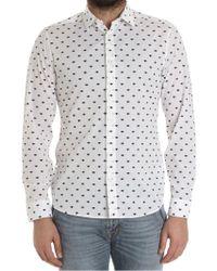 KENZO - White Multi Eyes Shirt - Lyst