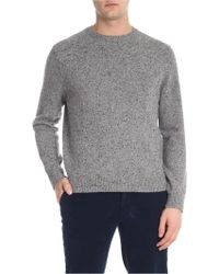 Brooks Brothers - Speckle Grey Crew-neck Jumper - Lyst