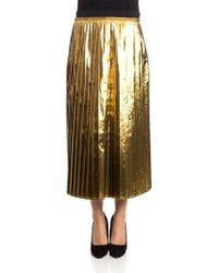 Jucca - Pleated Skirt - Lyst