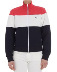Fred Perry - Sweatshirt With Logo - Lyst