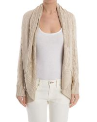 Ralph Lauren Black Label - Silk Cardigan - Lyst