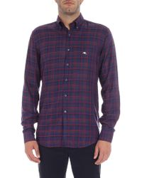 "Etro - Checked ""mandy"" Shirt - Lyst"