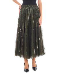 P.A.R.O.S.H. - Full Sequined Tulle Skirt - Lyst