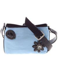 Pinko - Light Blue Canello Shoulder Bag - Lyst