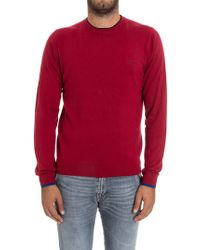 Sun 68 - Cotton And Cashmere Sweater - Lyst