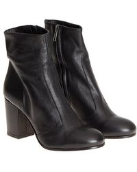Lemarè - Leather Ankle Boots - Lyst