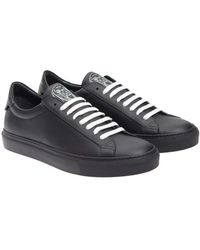 Givenchy - Black Leather Sneakers - Lyst