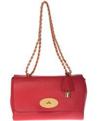 "Mulberry - ""medium Lily"" Red Shoulder Bag - Lyst"