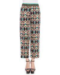 Jucca - Crop Trousers - Lyst