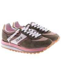 Etonic - Green And Pink Eclipse Sneakers - Lyst