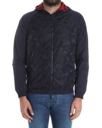 Emporio Armani - Blouson Reversible Jacket - Lyst