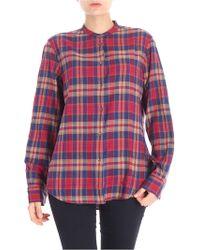 Aspesi - Checked Shirt - Lyst