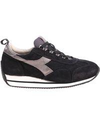 Diadora - Equipe Sw Hh Evo Black Sneakers - Lyst