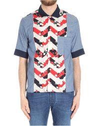 Maison Kitsuné - Chambray Venice Shirt - Lyst