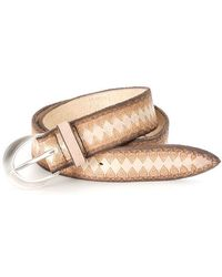 Orciani - Lasered Leather Belt - Lyst