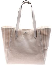 Hogan - Pink Canvas Shoulder Bag - Lyst