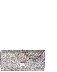 5d7acc164d Jimmy Choo - Lilia Bag In Multicolor Glitter - Lyst