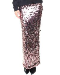 McQ - Sequin-embellished Long Skirt - Lyst