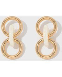 Lizzie Fortunato - Triplet Link Earrings - Lyst