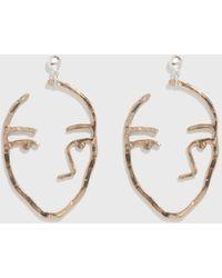 Open House - Bronze Sister Earrings - Lyst