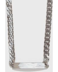 MM6 by Maison Martin Margiela - Chain Choker - Lyst