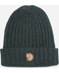 9f2e061dd1e Fjallraven Classic Knit Hat in Green for Men - Lyst