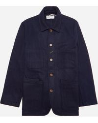 Universal Works - Mowbray Long Bakers Jacket - Lyst
