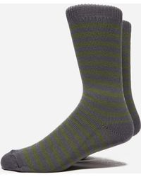 Universal Works - Stripe Socks - Lyst