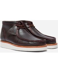 Clarks - Wallabee Hike Leather - Lyst