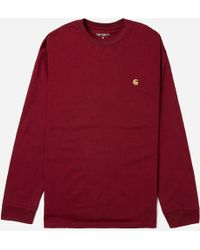 Carhartt WIP - Long Sleeve Chase T-shirt - Lyst