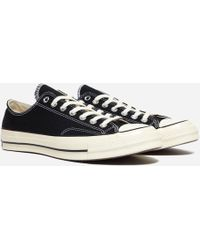 Converse - Black Chuck Taylor All-star 1970's Trainers - Lyst