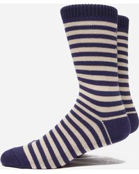 Universal Works - Stripe Sock - Lyst