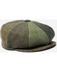 Barbour Tweed Flap Cap in Green for Men - Lyst fa27a664635
